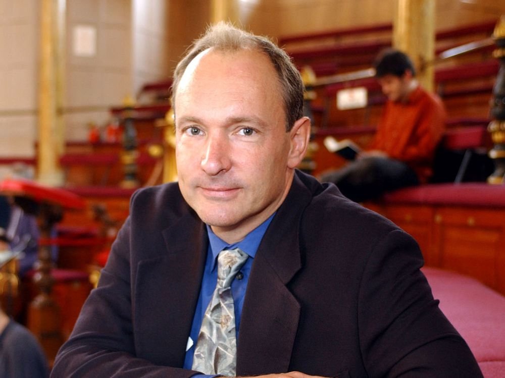 Tim Berners-Lee er i dag sjef i World Wide Web Consortium.