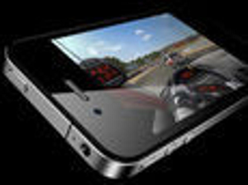 Sliter med iPhone-reklame