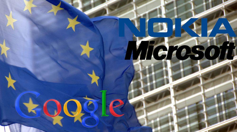 Innklager Nokia og Microsoft inn for EU