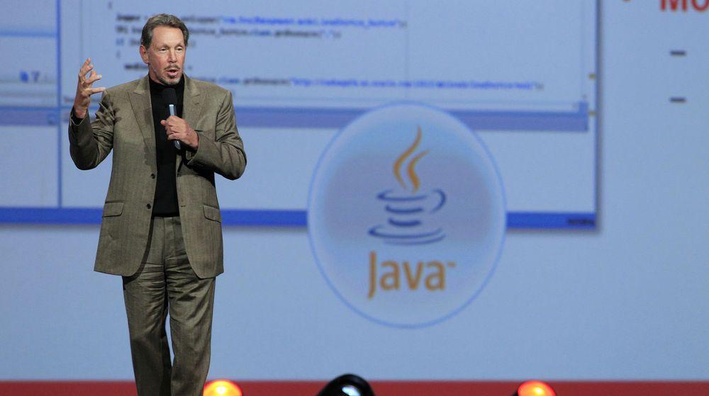 Larry Ellison kunngjorde Oracle Public Cloud 5. oktober 2011. Fra 6. juni skal alle Oracles bedriftsapplikasjoner være tilgjengelig gjennom nettskyen.