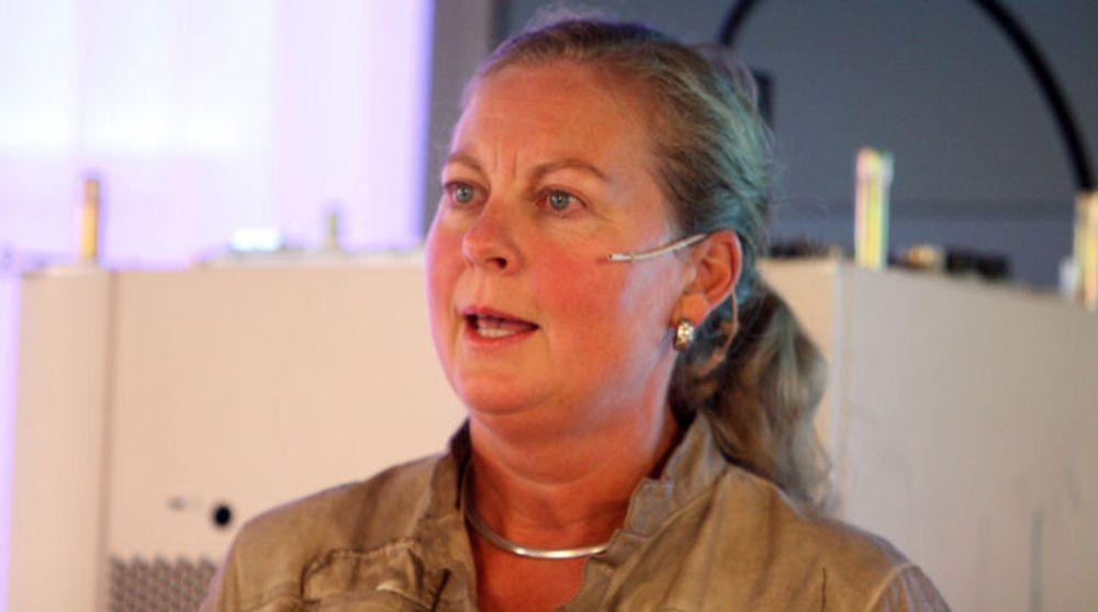 Berit Svendsen, administrerende direktør i Telenor Norge, lover bedre 3G-dekning og -kapasitet i årene som kommer.