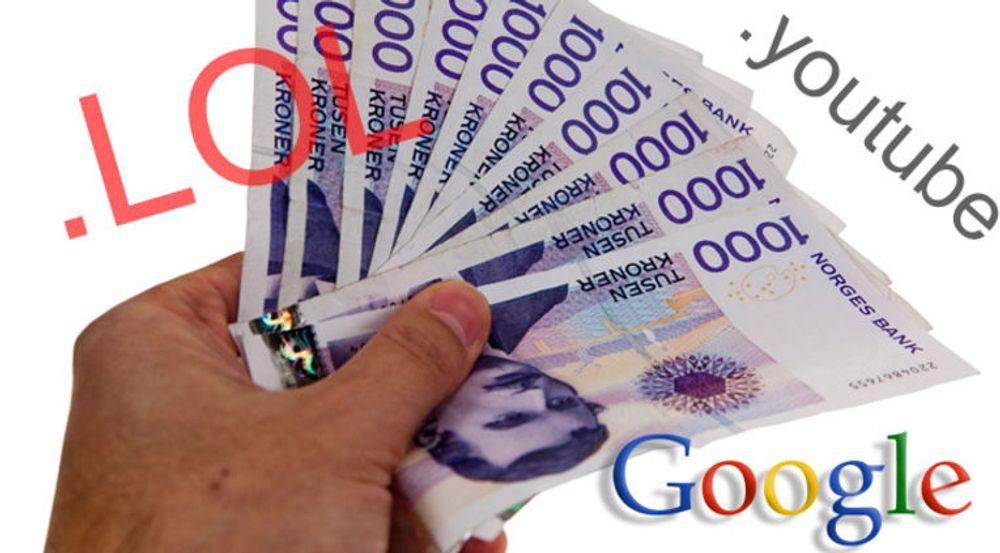 Google skal ha søkt minst 50 nye toppnivådomener. ICANN har i alt mottatt over 1900 søknader om nye generiske toppdomener.