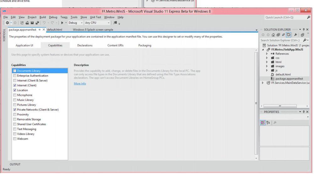 Visual Studio 11 Express kan kun brukes til utvikling av Metro-baserte applikasjoner. I tillegg kommer en egen utgave for utvikling av webapplikasjoner.