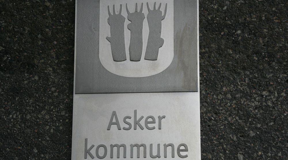 Asker kommune har valgt søk