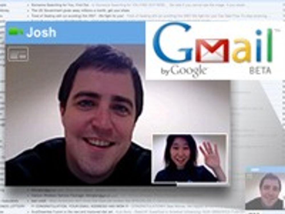Gmail har fått tale- og videotelefoni