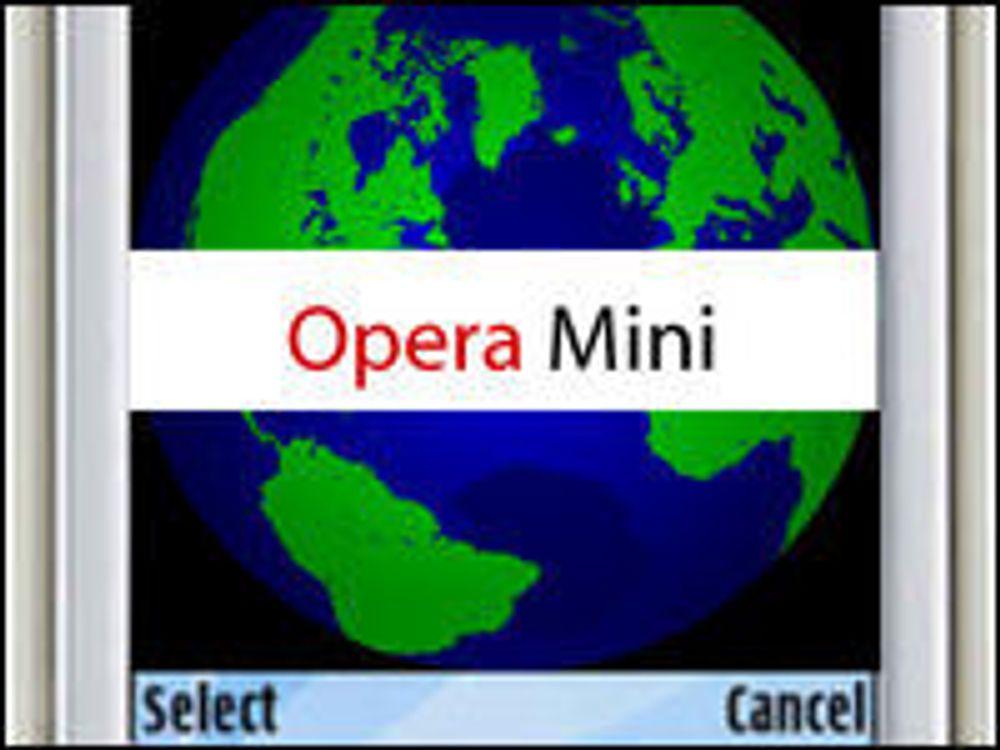 Opera Mini har blitt stor