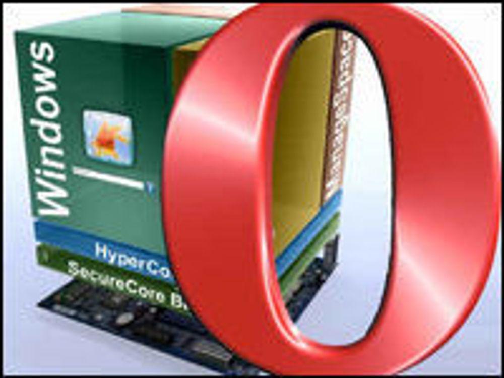 Installerer Opera på utsiden av Windows