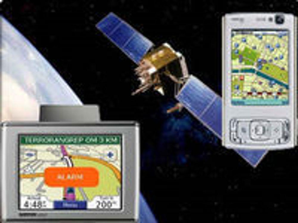 Europere vil ha GPS i mobilen