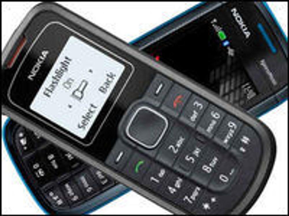 Nokia 1202 (øverst) og 5130 XpressMusic