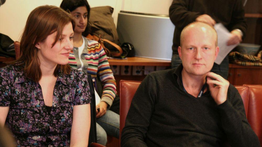 Marika Lüders og Petter Bae Brandtzæg tror det blir større press på å tilgjengeliggjøre gratis data framover.