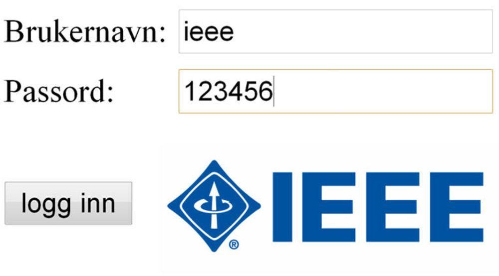 Mangelfull passordsikkerhet hos IEEE avslørte også at mange av medlemmene hadde elendige passord.