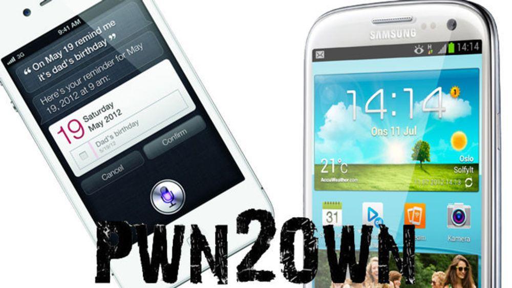 iPhone 4S og Galaxy S III knekket