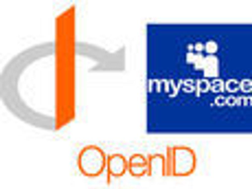 MySpace åpner for OpenID