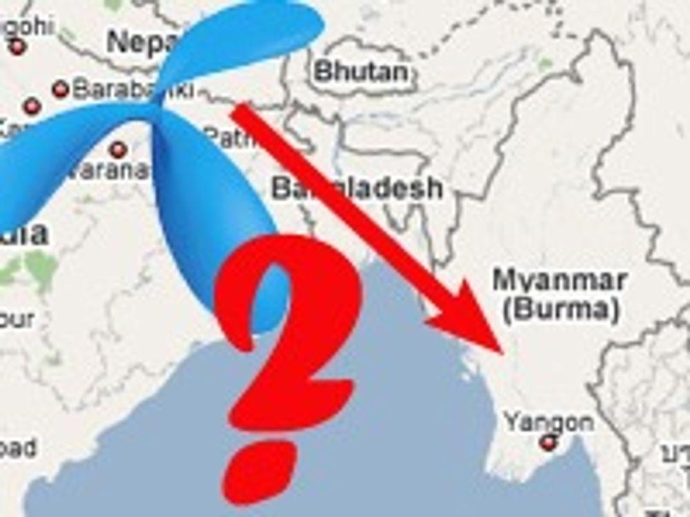 Telenor kan bli medinvestor i Burma