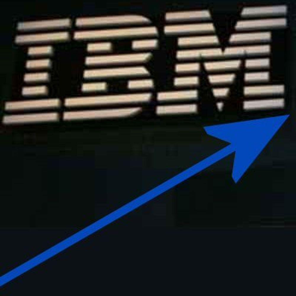 IBM gjør det godt i urolig marked