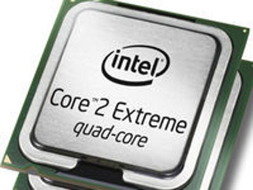 Markedet lettet etter rekordtall for Intel