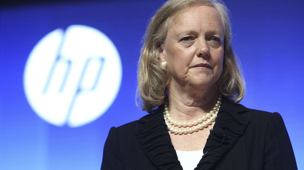 KUTTER: HPs toppsjef Meg Whitman.