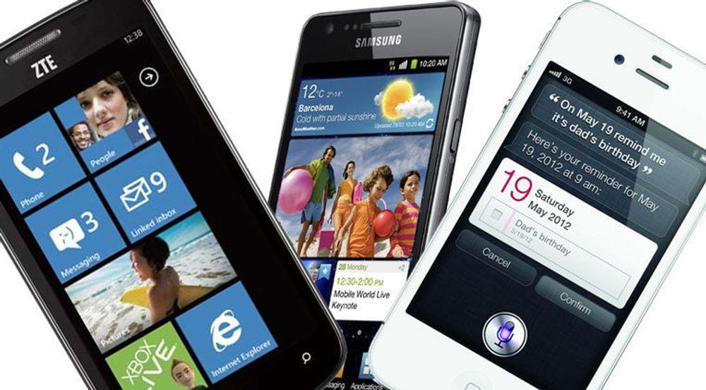 Knapt noe vekst for Windows Phone