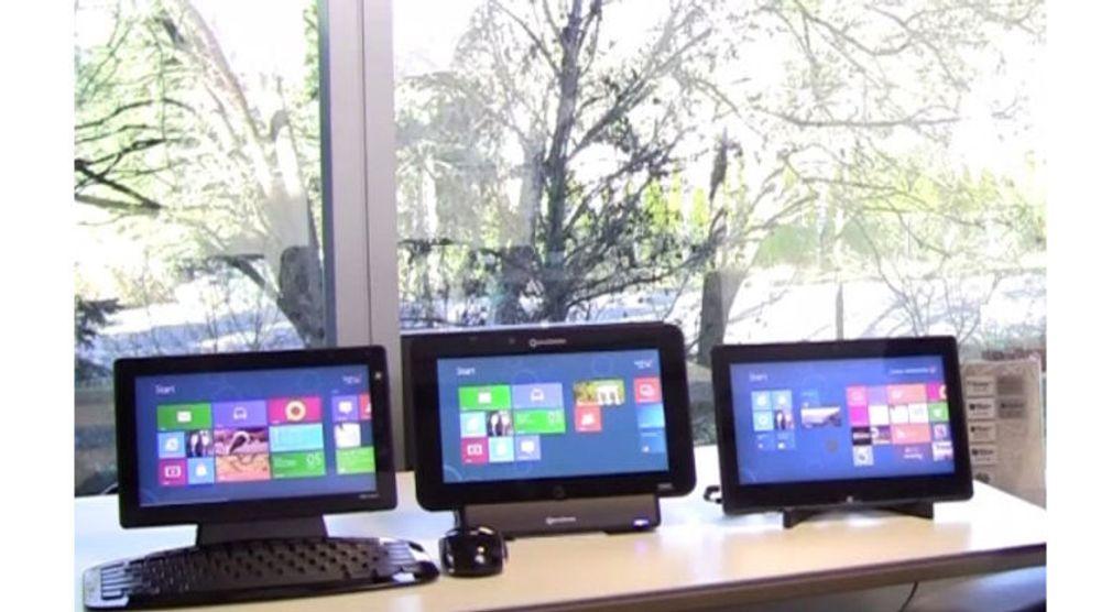 Microsoft hevder at kun selskapet selv er i stand til å lage godt fungerende desktop-applikasjoner for Windows RT.