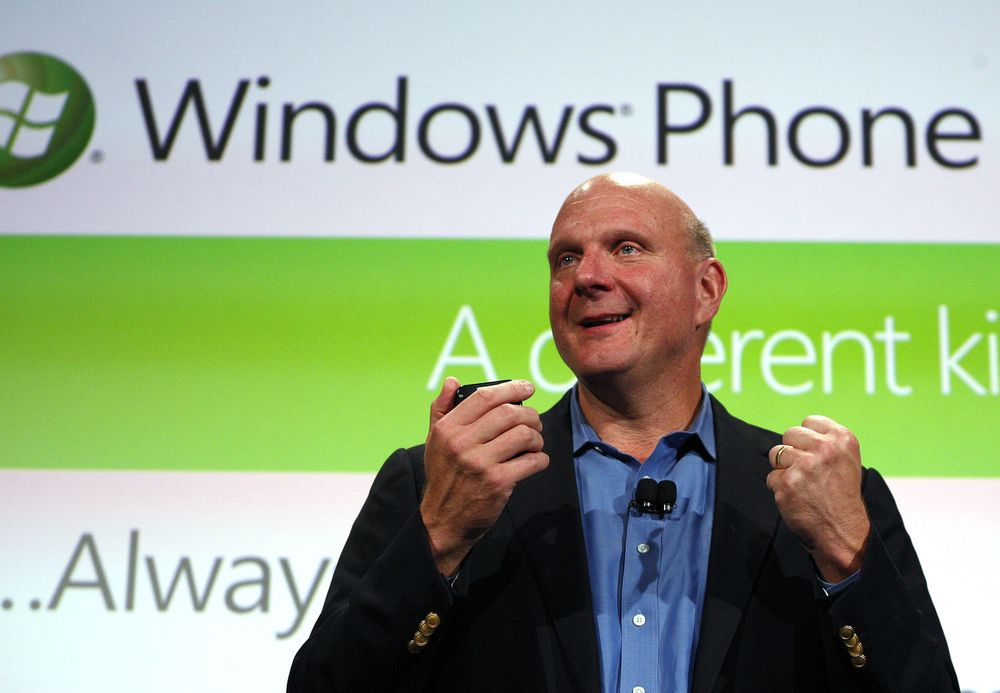 Har ikke Steve Ballmer og Microsoft oversikt over hvilken informasjon selskapets Windows Phone-plattform sender tilbake til selskapets servere?