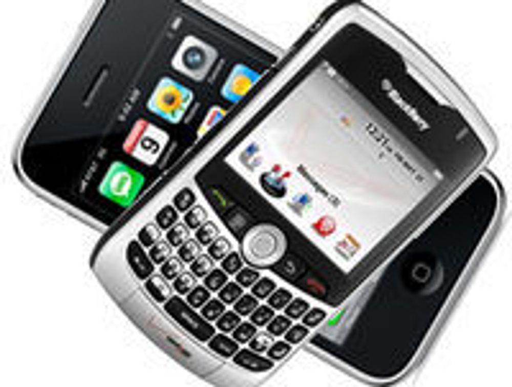 iPhone har falt ned fra tronen i USA