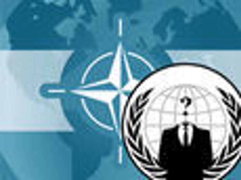 Anonymous advarer NATO