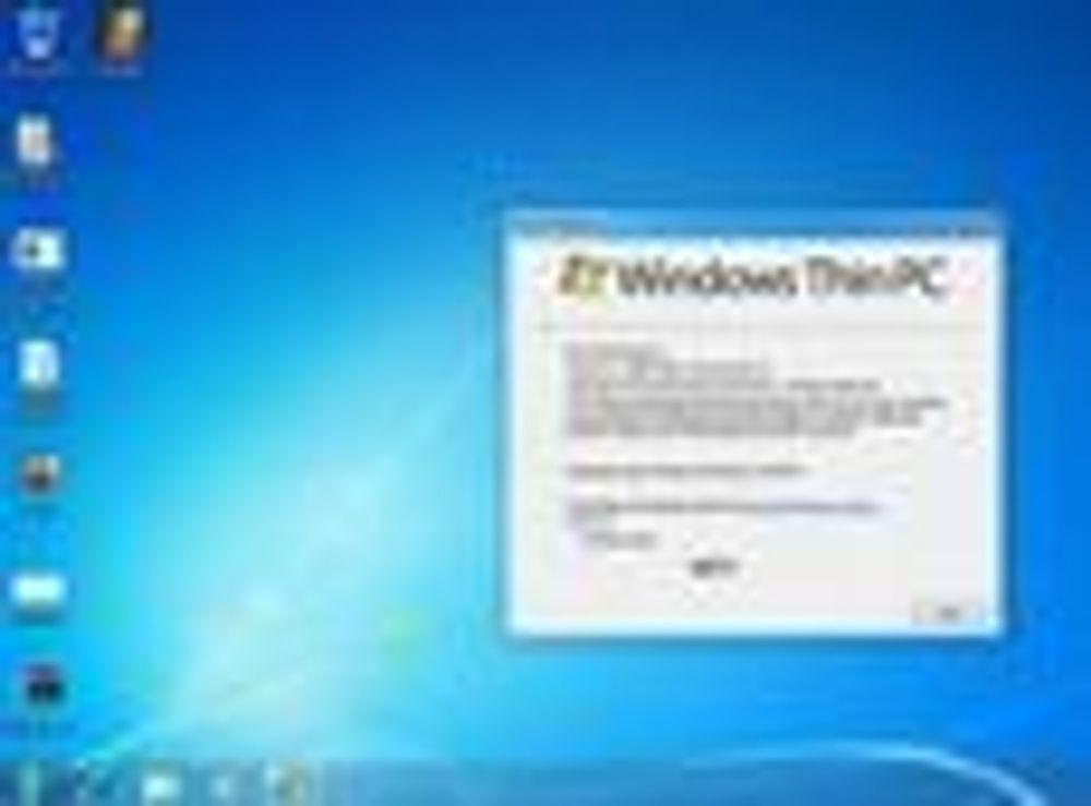 Microsoft med ny tynnklient