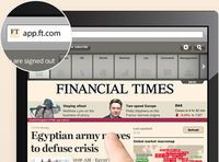 Financial Times i krig mot Apple