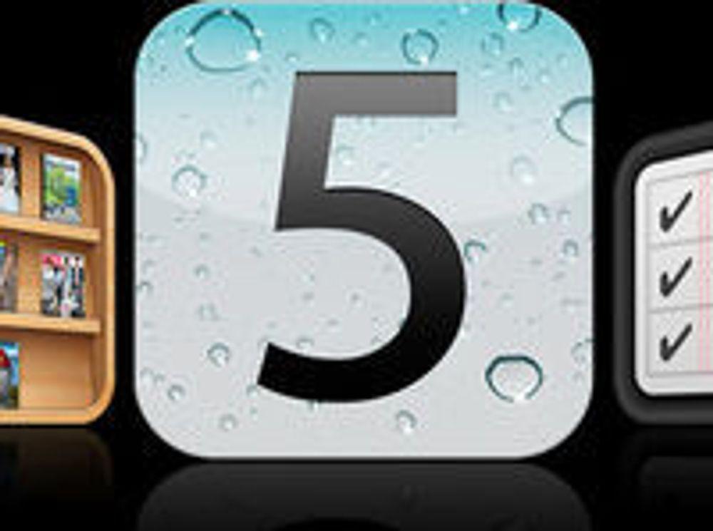 Mye gammelt nytt i iOS 5
