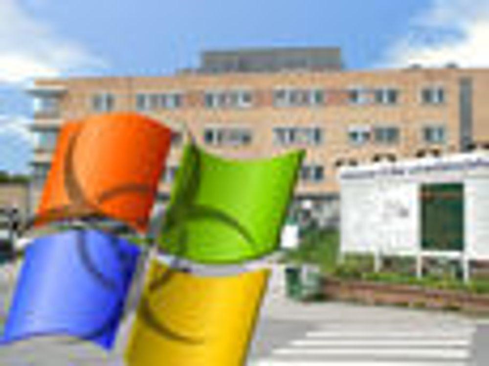Dataorm lammet Aker sykehus