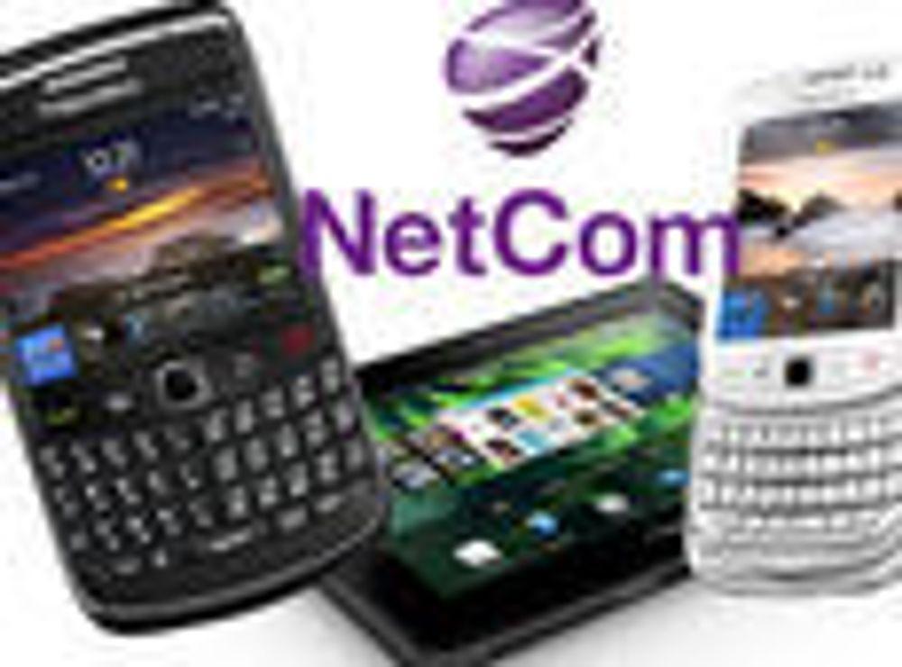 Netcom satser på Blackberry