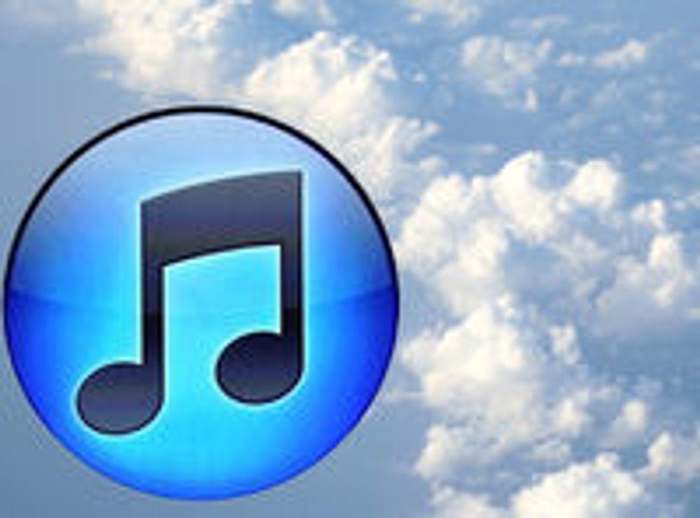 iTunes inntar nettskyen