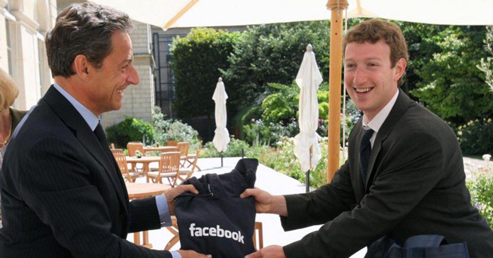 Et privat møte mellom Nicolas Sarkozy og Mark Zuckerberg i forkant av G8-toppmøtet kan ha bidratt til å realitetsorientere den franske presidenten om Internetts regulerbarhet.
