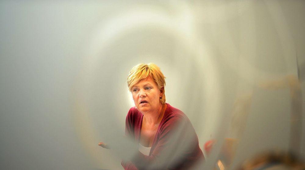 Kunnskapsminister Kristin Halvorsen (SV) får kritikk for ikke å lytte til IT-næringen.