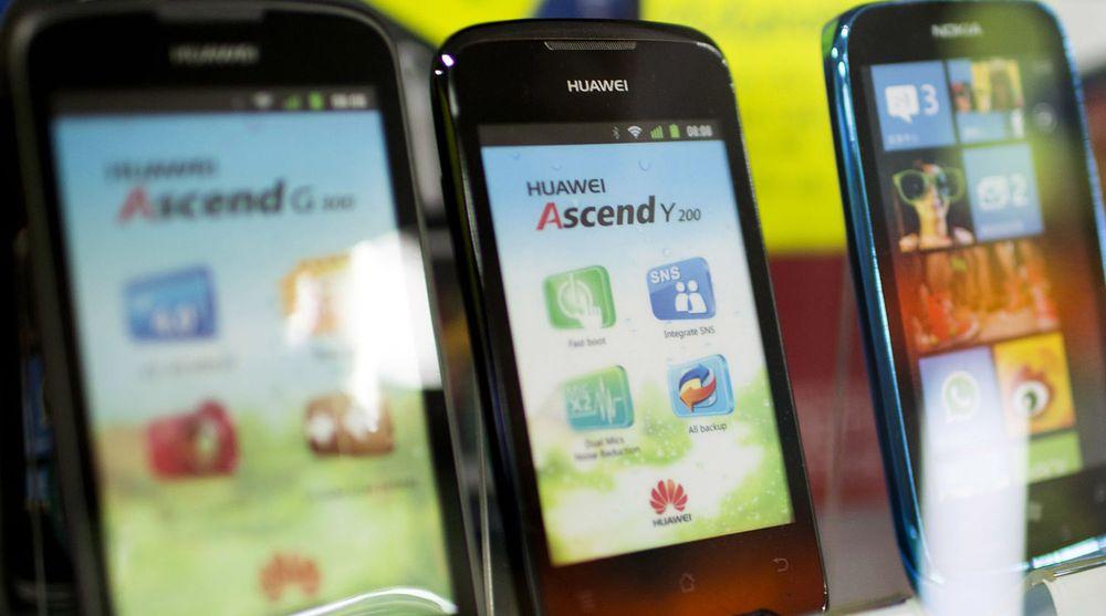 Huawei – her representert med en Ascend G300 og en Ascend Y200 – og andre kinesiske merker utkonkurrerer verdens ledende leverandører på det kinesiske markedet.