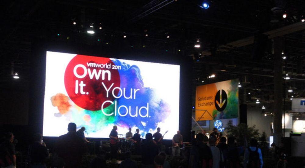Et budskap på VMware VMworld 2011: Det kan være best å eie din egen sky, ikke ty til andres.