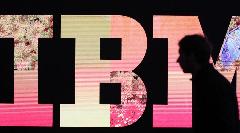Misfornøyd med IBM-vekst