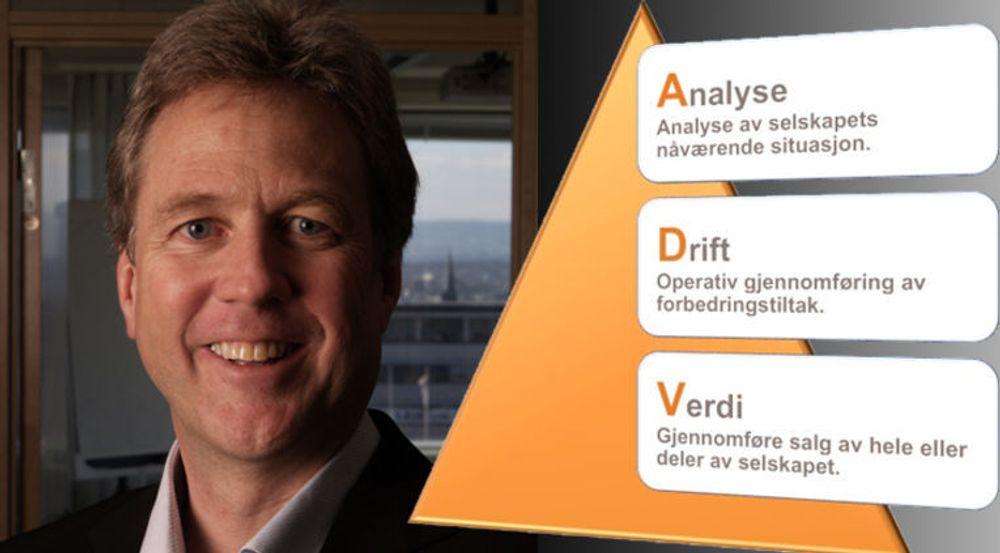 Tor Malmo skal skape verdi i NAF-Data ved å anvende sin egen erfaring og metoden til ADVnor.