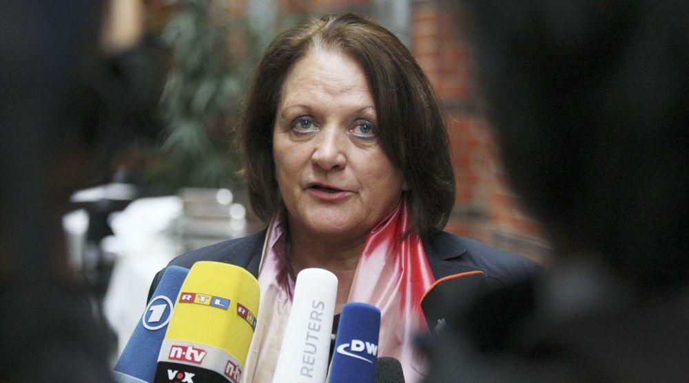 Krever full granskning etter avsløringene om bruk av spionvare: Tysklands justisminister Sabine Leutheusser-Schnarrenberger (FDP).