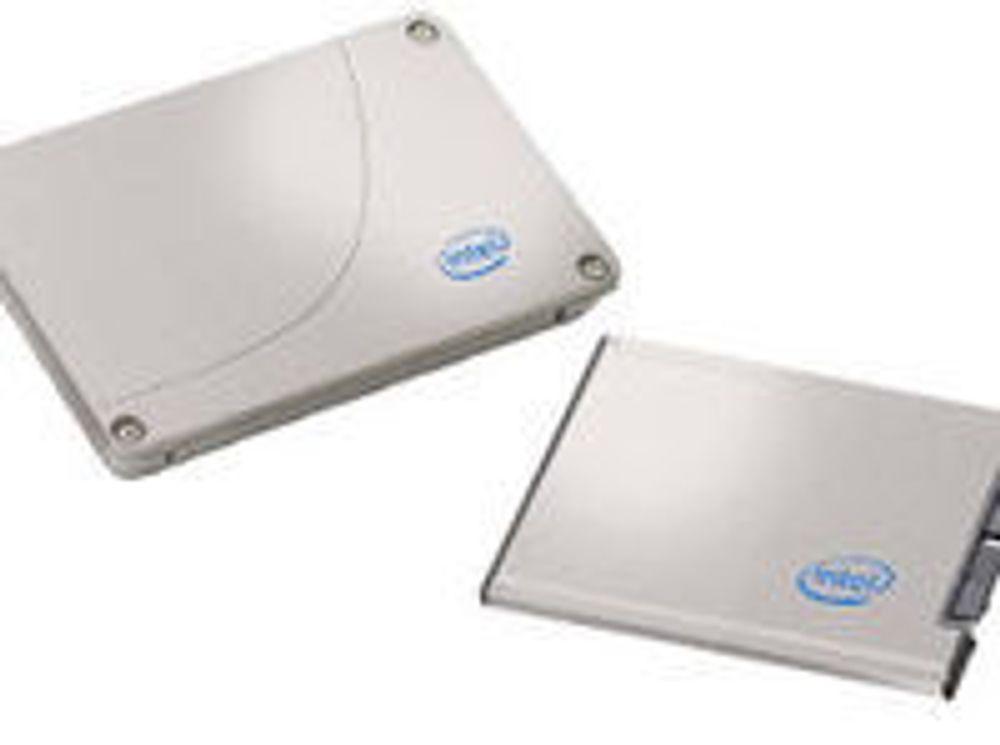 Intel presser ned prisen på SSD