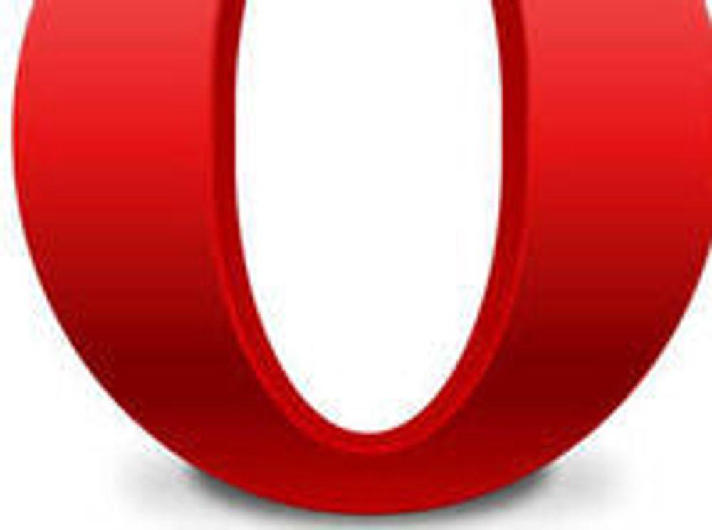 Det er vanskelig å se forskjell på Operas virkelige logo, og denne CSS-versjonen som David DeSandro har utformet kun ved hjelp av stilsett.