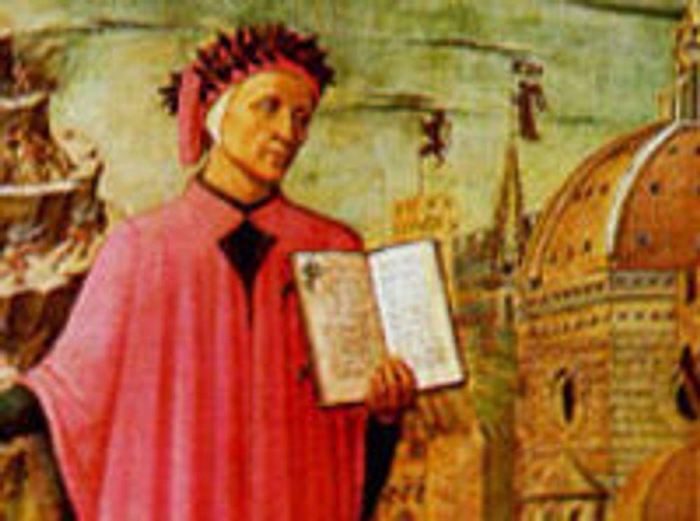 Dantes Divina Commedia er blant kulturskattene som Google skal gjøre fritt tilgjengelig over Internett.