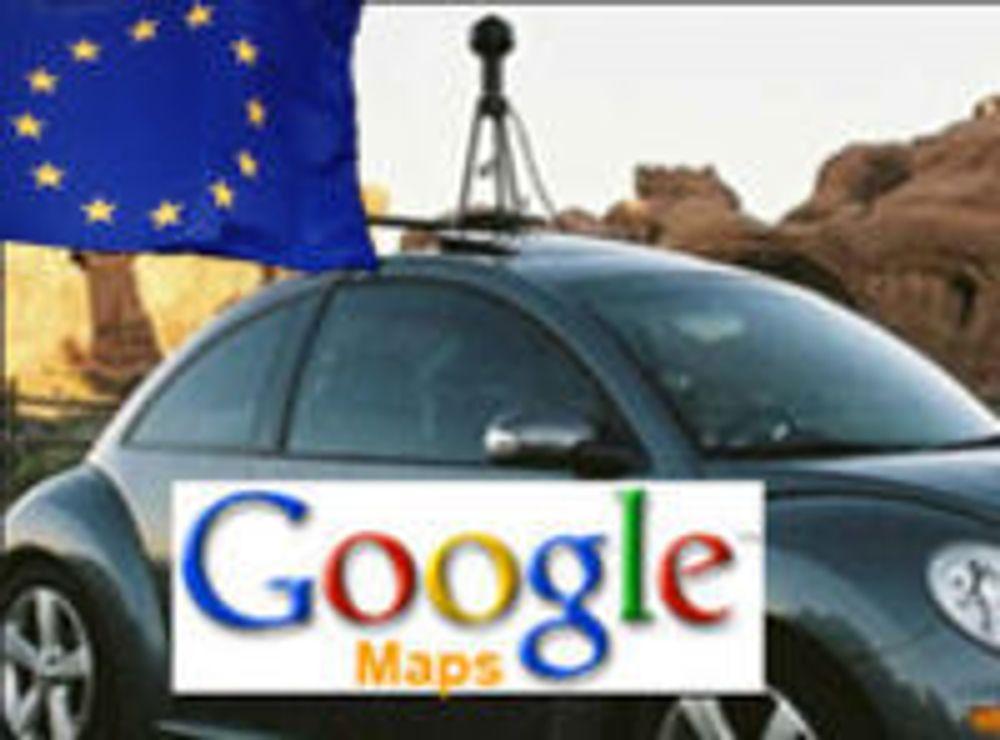 Uklar framtid for Street View i Europa