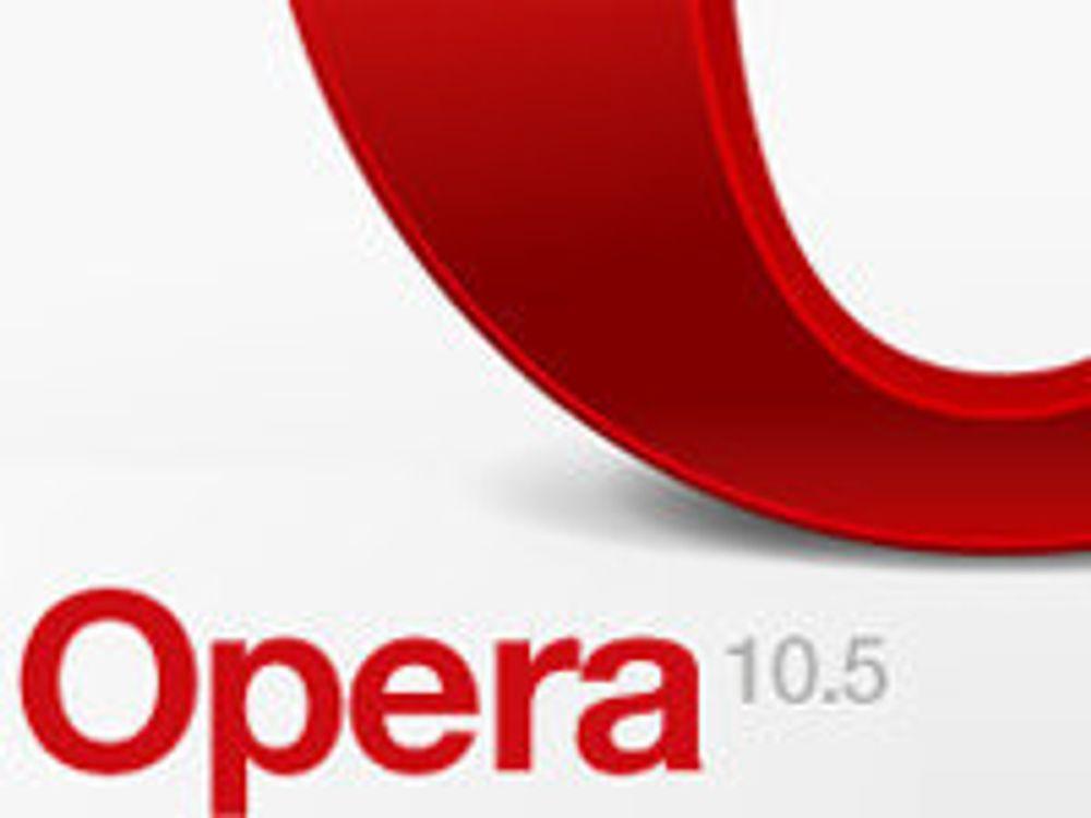 Opera-feilen er ikke farlig