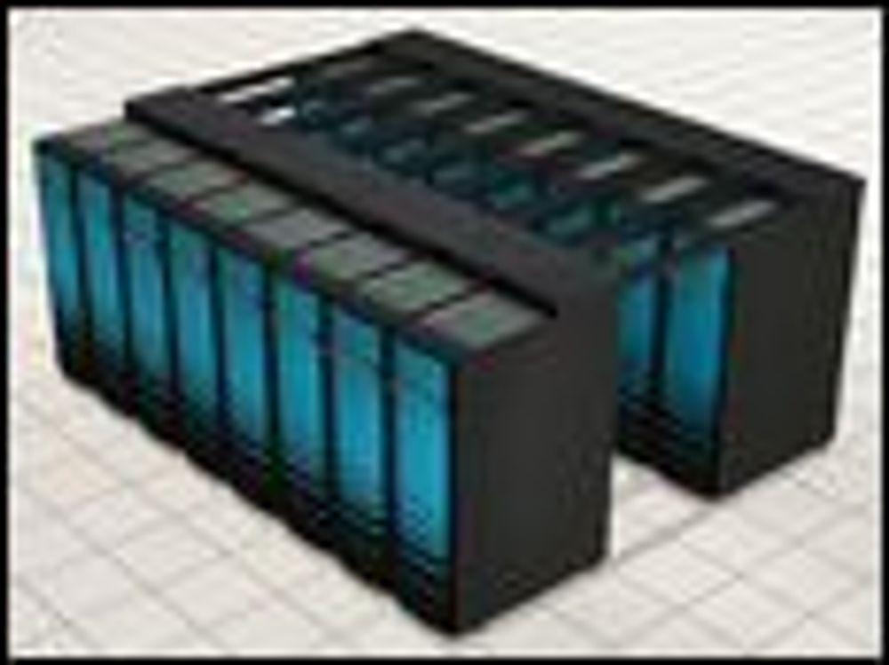 Erstatter AMD med Intel i superdatamaskiner