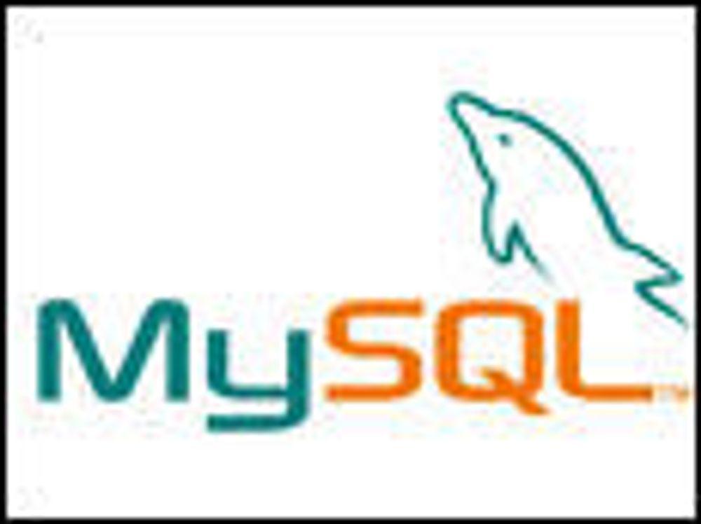 Sun vil lukke noen nye MySQL-komponenter