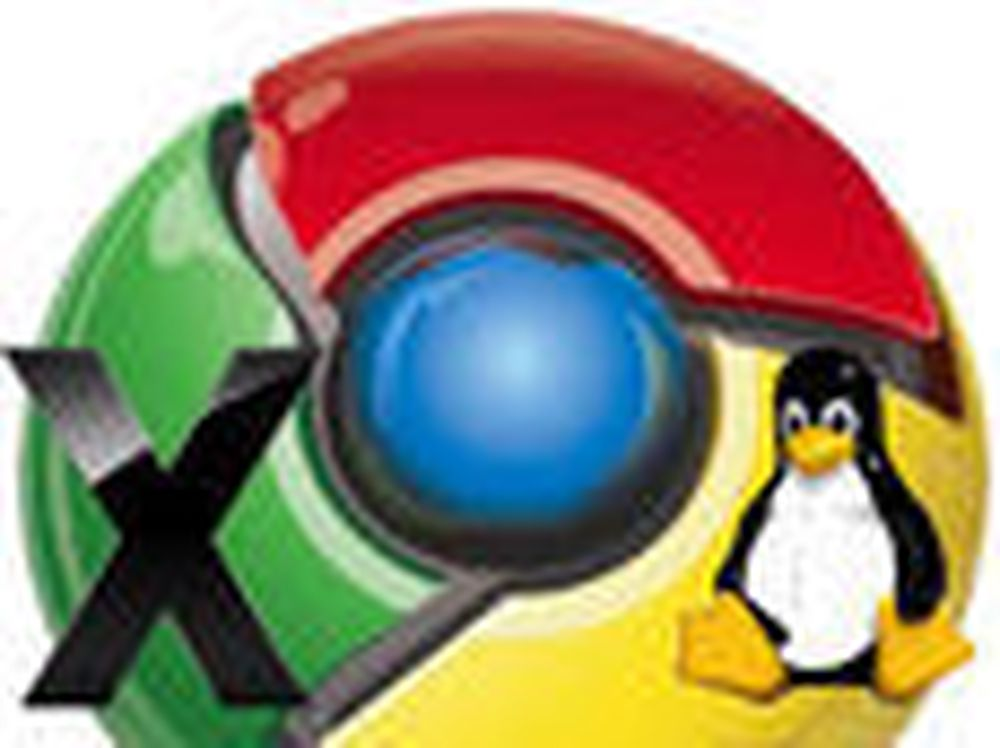 Uferdig Chrome klar for Linux og Mac