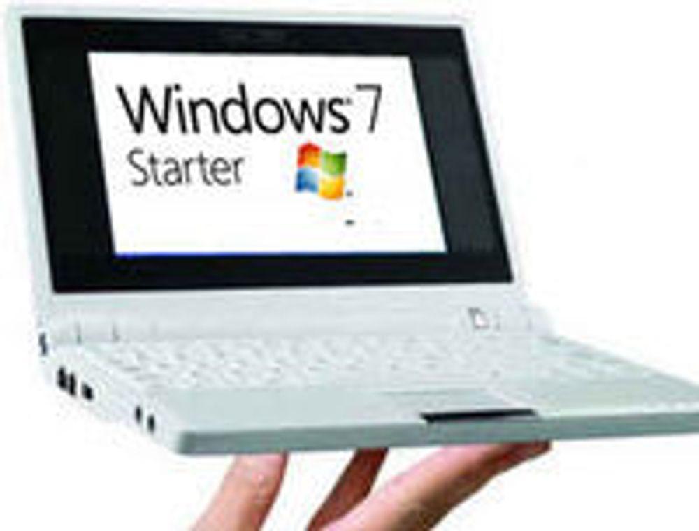 Slik blir «netbook-utgaven» av Windows 7
