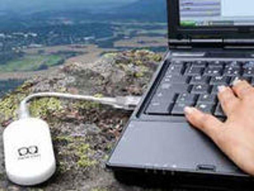 Mange kobler pc-en til mobilt bredbånd