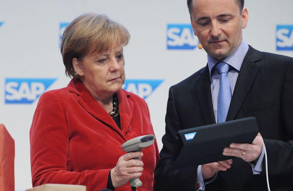 SAP avsanner kjøpsrykter